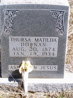Thursa Matilda <i>Bryan</i> Fortenberry