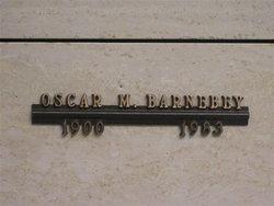Oscar M Barnebey