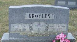 Louella <i>Hilliard</i> Broyles