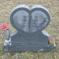Myra Florence <i>Mayes</i> Hilliard
