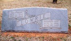 Alexander Newton Lowrie