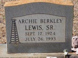 Archie Berkley Lewis, Sr