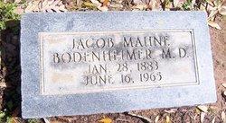Dr Jacob Mahne Jake Bodenheimer