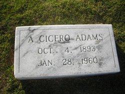 A. Cicero Adams