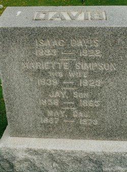 Mariett <i>Simpson</i> Davis