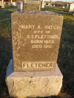 Mary Ann <i>Hatch</i> Fletcher