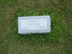 Lorene T <i>Clark</i> Ahnen