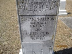 Sallie <i>Griffin</i> Allison
