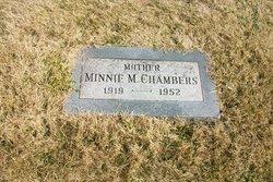 Wilhelmina Margaret Minnie <i>Fiene</i> Chambers