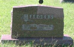 Thelma Mae <i>Morton</i> Broers