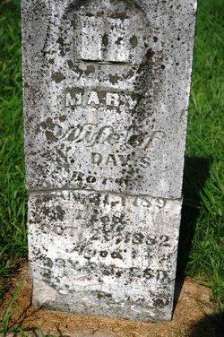 Mary <i>Allison</i> Davis