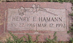 Henry LeRoy Hamann