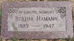 Bertha Viola <i>Swain</i> Hamann