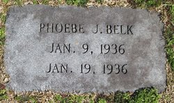 Phoebe J Belk