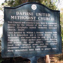 Daphne Methodist Church Cemetery