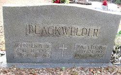 Nettie B Blackwelder