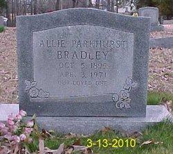 Allie <i>Parkhurst</i> Bradley