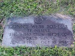 Donnie Webb Boshers