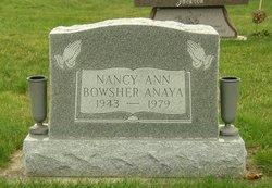 Nancy Ann <i>Bowsher</i> Anaya