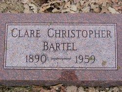 Clare <i>Christopher</i> Bartel