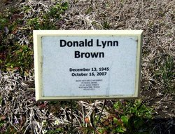 Donald Lynn Brown