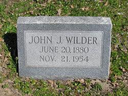 John James Wilder