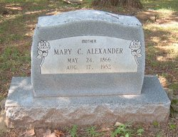 Mary C Alexander