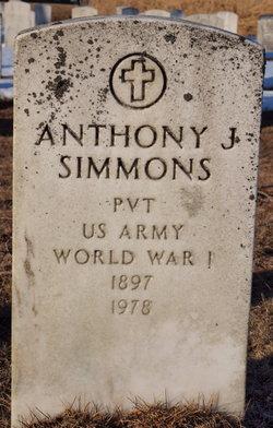 Anthony J Simmons