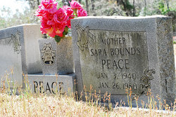 Sara Louise <i>Bounds</i> Peace