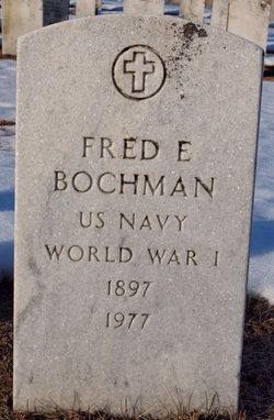 Fred E Bochman