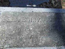 Fern <i>Boltz</i> Ashley