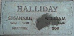 William James Halliday
