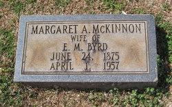 Margaret <i>McKinnon</i> Byrd