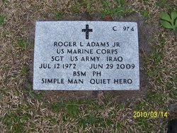 Sgt Roger LeeRoy Adams, Jr
