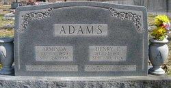 Arminda <i>Wilson</i> Adams