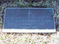 Mary Lou <i>Edmundson</i> Adams