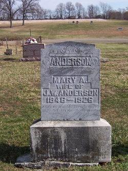 Mary Ann <i>Malone</i> Anderson
