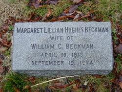 Margaret Lillian <i>Hughes</i> Beckman