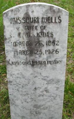 Missouri <i>Wells</i> Jones