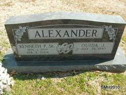 Quida Jane <i>Gilmore</i> Alexander
