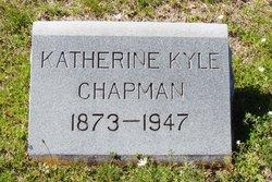 Katherine McClung <i>Kyle</i> Chapman