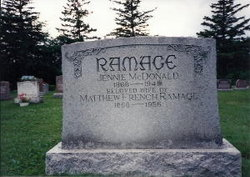 Jennie <i>McDonald</i> Ramage