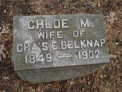 Chloe M. <i>Caswell</i> Belknap