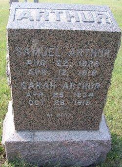 Mrs Sarah <i>Hageman</i> Arthur