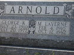 Mary LaVerne <i>Stultz</i> Arnold