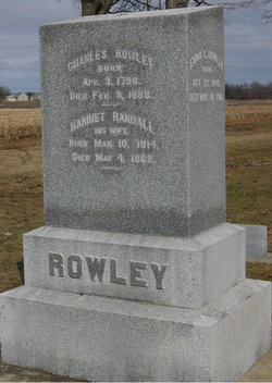 Harriet <i>Randall</i> Rowley