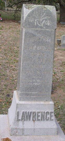 Henrietta Josephine <i>Coffey</i> Lawrence