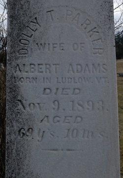 Dolly T. <i>Parker</i> Adams