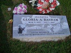 Gloria Ann Janetta <i>Hayes</i> Basham