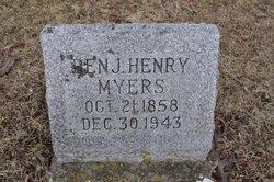 Benjamin Henry Henry Myers